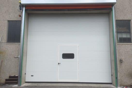 Porta sezionale industriale Brescia