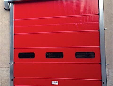 La porta veloce Flexypach, è ideale per chiusure di grande e media dimensione