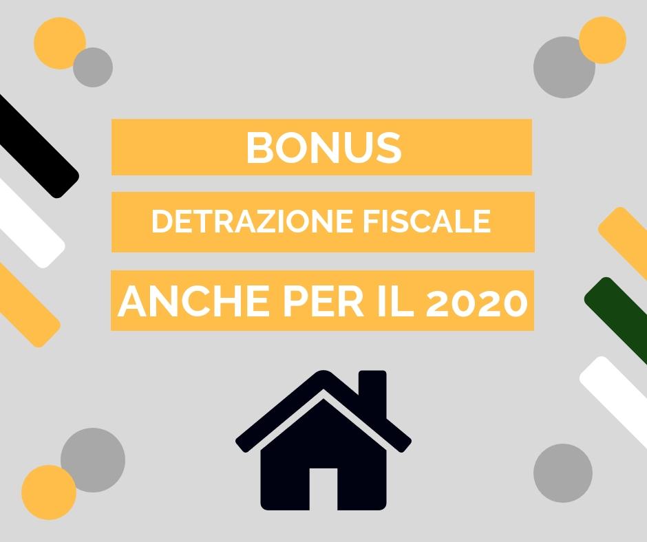 Buone notizie per i bonus casa 2020